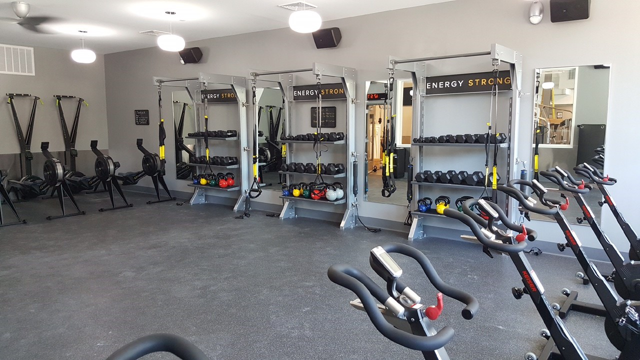 Gallery gym rax