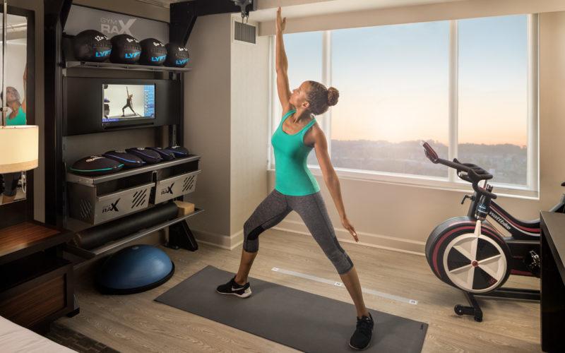 Hilton Five Feet to Fitness
