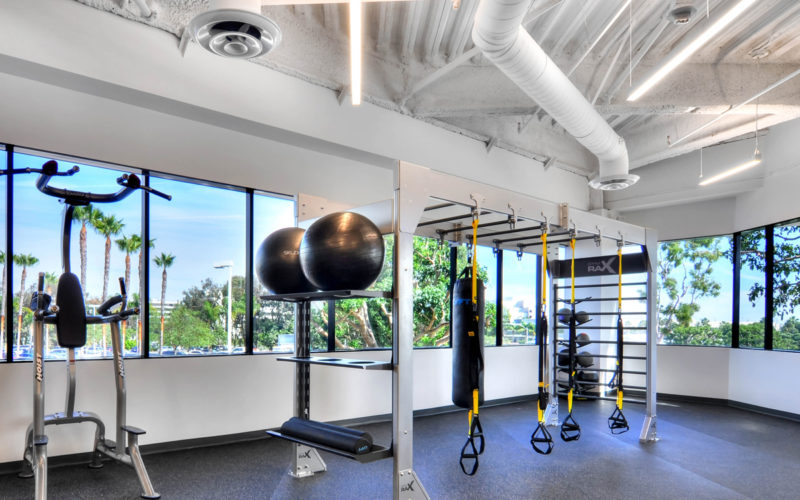 Manhattan-beach-towers-GymRax-Bridge-Fitness-Center