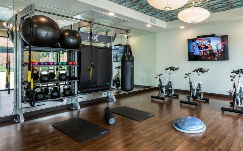 GymRax-Fitness Amenity