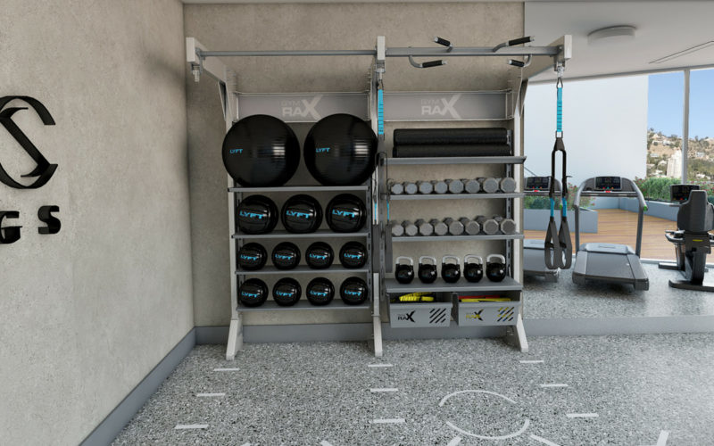 gymrax suspsension -storage