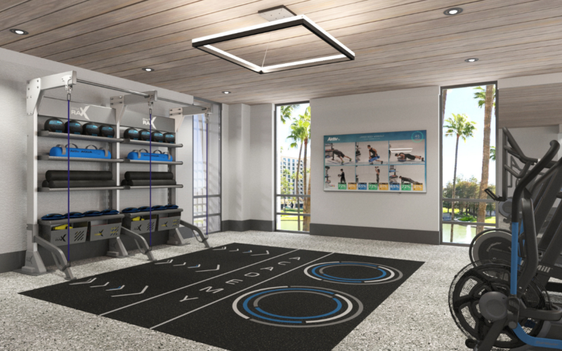 Aktiv Academy Gym Rax Suspension Gym Storage