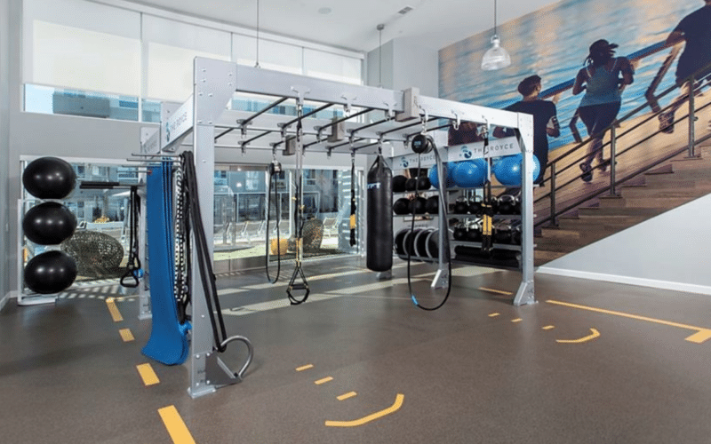Gym Rax Fitness Center Multifamily gym Design