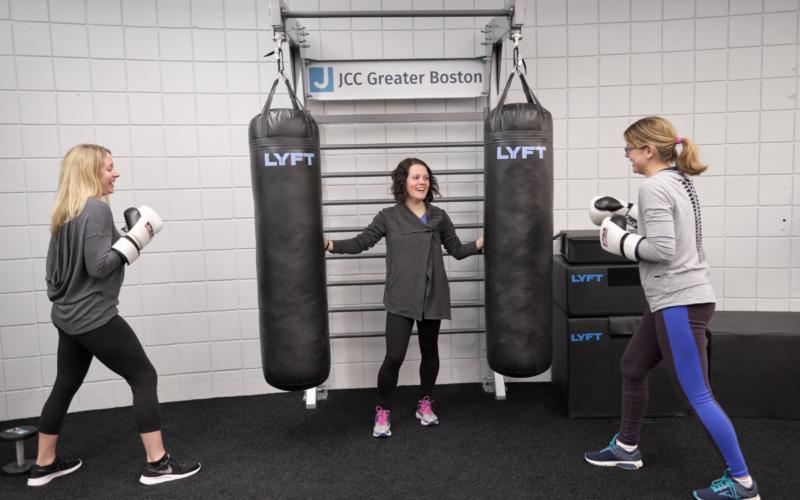 JCC Boston Gym Rax Group Training Gym Design